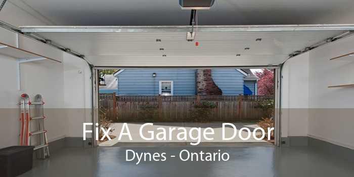 Fix A Garage Door Dynes - Ontario
