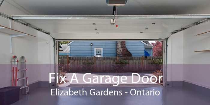 Fix A Garage Door Elizabeth Gardens - Ontario
